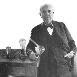 Thomas A. Edison, image courtesy National Park Service, via World Book.