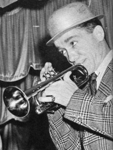 Red Nichols, late 1930s/early 1940s. Down Beat photo by Gordon Sullivan.