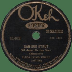 San Sue Strut