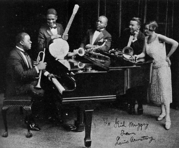 Louis Armstrong's Hot Five.