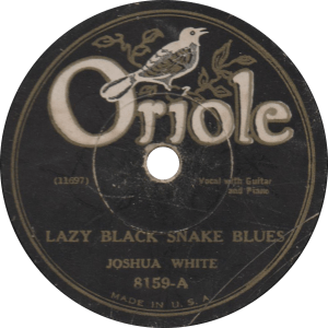 Lazy Black Snake Blues