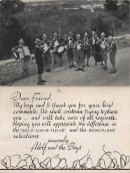 Adolf Pavlas and the Boys