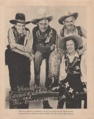 Carson Robison and his Buckaroos