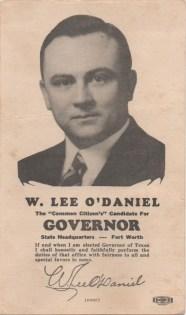 W. Lee O'Daniel