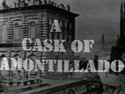 Suspense - A Cask Of Amontillado