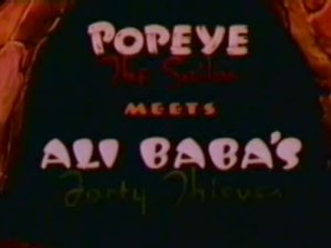 Popeye – Popeye Meets Ali Baba's Forty Thieves