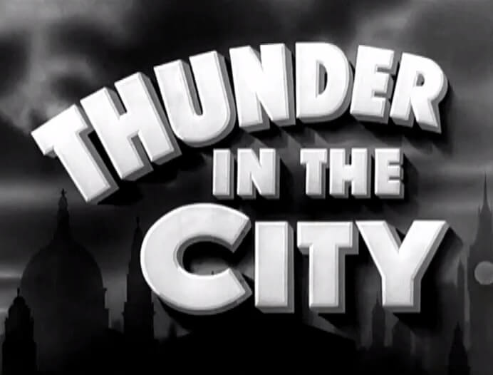 Thunder in the City