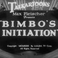 Betty Boop - Bimbo's Initiation