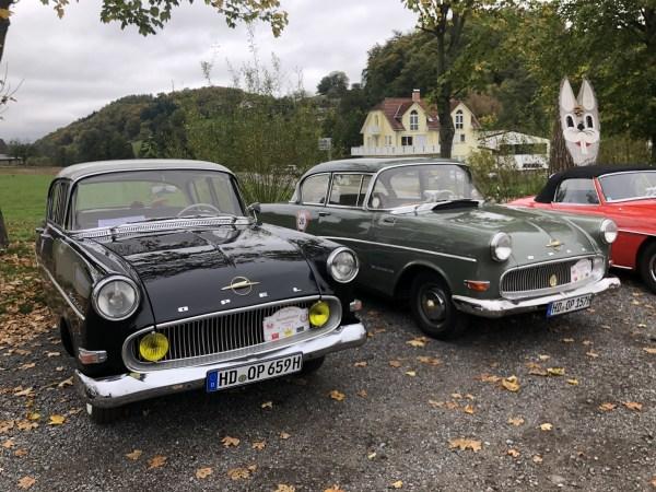 Herbstrallye 2019 Oldtimerfreunde Heidelberg