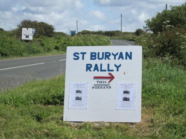 St. Buryan Rally 2012