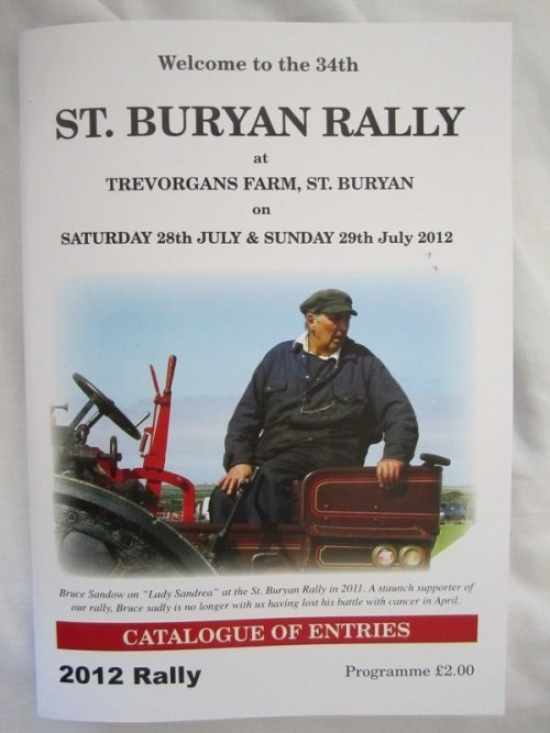 34 th St. Buryan Rally
