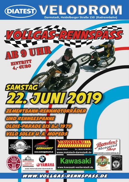 Vollgas-Rennspass 2019