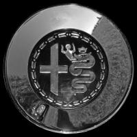 Logo Alfa Romeo Radkappe Detailfoto