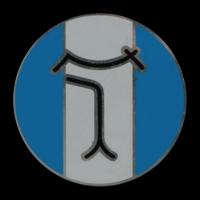 Logo DeTomaso auf einer Pantera Felge