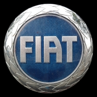 Logo Fiat auf Stilo (2001-2008)