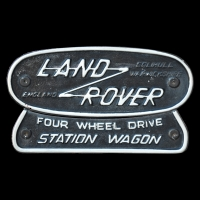 Logo Land Rover FOUR WHEEL DRIVE STATION WAGON
