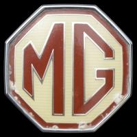 Logo MG F Typ RD Bauzeit 1995–1999