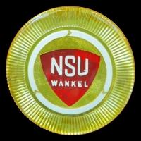 Logo NSU auf NSU Wankel Spider (1964–1967)