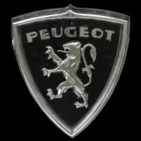 Logo auf einem Peugeot 404