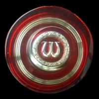 Logo Wolseley auf Austin 1800 Mk2