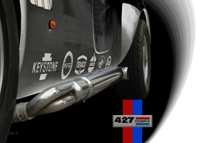 Shelby Cobra Sidepipe