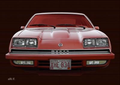 Chevrolet Monza (Originalfarbe) 02 only tires