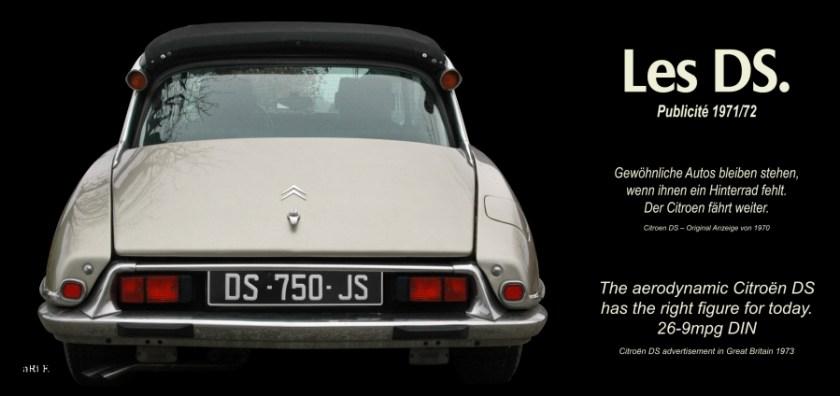 Citroen DS Pallas Oldtimer Poster