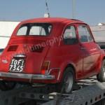 Fiat 500 Nuova L Rückansicht
