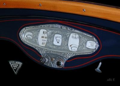 Hudson Super Six Instrumententafel