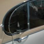 Jaguar Mark 2 Seitenfenster hinten ausklappbar