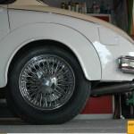 Jaguar Mark 2 Speichenfelgen verchromt