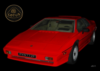 Lotus Turbo Esprit S3 Poster for sale
