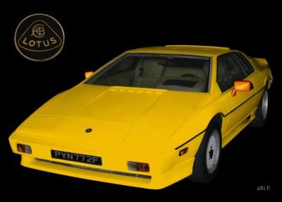 Lotus Turbo Esprit S3 technische Daten