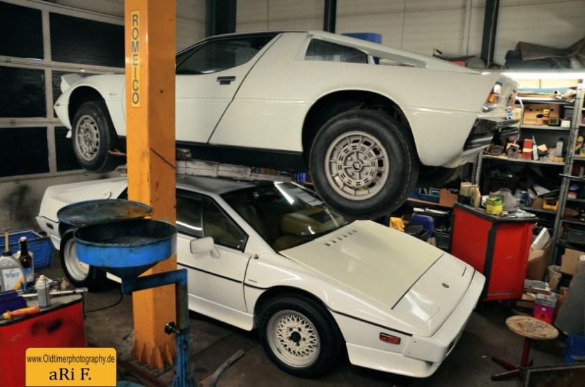 Maserati Merak SS und Lotus Turbo Esprit