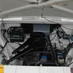 Opel Olympia A Motorraum vorn mit 1100 ccm Motor