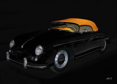 Poster Porsche 356 A 1500 Speedster