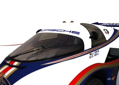 Rothmans Porsche 956 Poster