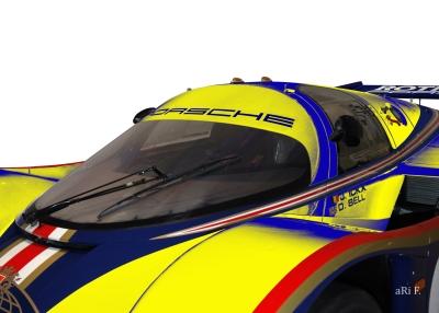 Rothmans Porsche 956 LH - Le Mans Winner Poster