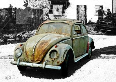 VW Käfer, Baujahr 1958