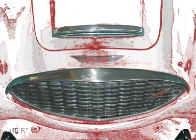 Austin-Healey 100 Kühlergrill new created by aRi F.