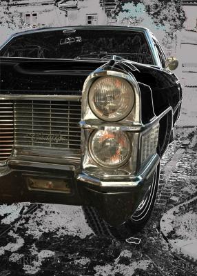 Cadillac DeVille Cabrio Kühlergrilldetail 02