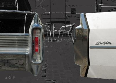Cadillac Sedan DeVille Cabrio Heckansicht