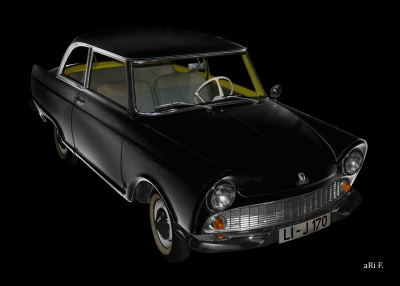 DKW Junior in black & black