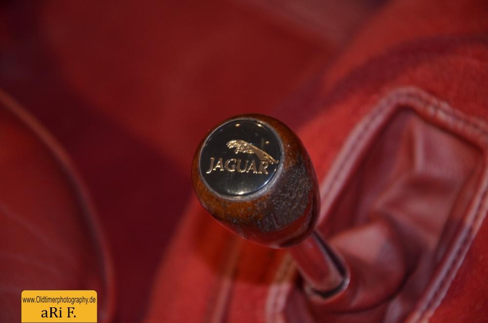 Jaguar XK 140 Schalthebel