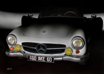 Mercedes-Benz 190 SL in minimalism pure 01