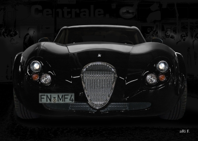Wiesmann GT FM4 in black & black