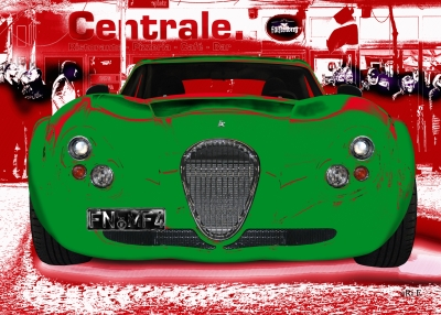 Wiesmann GT FM4 in red & green