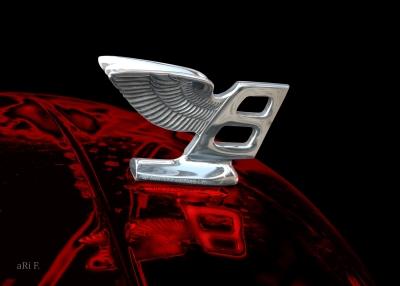 Bentley Flying B - Kühlerfigur Poster Wandbild