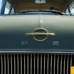 Opel Rekord P1, Detail vom Kühlergrill