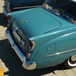 Opel Kapitän '57, Heckansicht